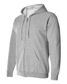 Heavy Hooded Full-Zip Sweat Shirt Adult