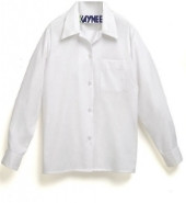 Banded Bottom Oxford Long Sleeve Size Adult
