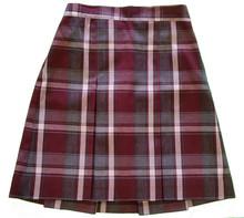 2-Kick Pleat Skirt, Front & Back Half Size