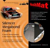"HushMat Silencer Megabond - 1/4"" - #20200"