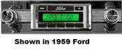 Custom AutoSound USA-630 In Dash AM/FM 59