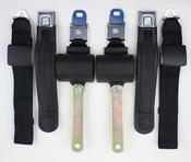 1971-1974 Mopar B Body Manual Shoulder/Lap Seat Belts