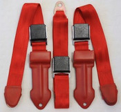 1968-1970 Mopar A Body Bench Seat Lap Belts