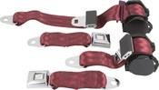 1978-82 Corvette Shoulder Belt System With Single Retractors