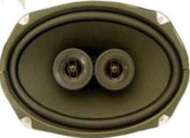 "Custom Autosound 6""x9"" Dual Voice Coil Speakers"