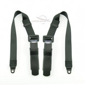 Seatbelt Planet Porsche 911, 1969-86 Rear Seat Belts Kit