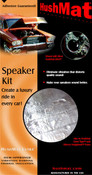 HushMat Ultra Speaker Kit - Silver - Item #10111
