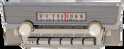 1960 Ford Thunderbird AM/FM Stereo Radio with bluetooth 1