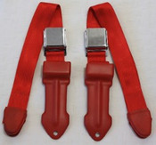 1964-1967 Mopar A Body Bucket Seat Lap Belts