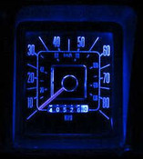 1966-77 Bronco LED Lamps For Your Gauges-Ultra Bright-Blue