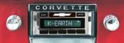 Custom AutoSound 1953-57 Corvette USA-630 In Dash AM/FM