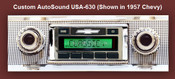 Custom AutoSound USA-630 In Dash AM/FM 15
