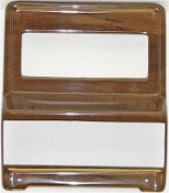 KHE 1969-1970 Mustang CD Bezels (non console) Woodgrain with bluetooth