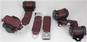 1974-77 Corvette Shoulder Belt System With Dual Retractors