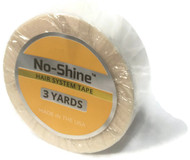 "Walker No Shine Bonding Tape Roll 3/4"" x 3 yards"