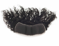 "Remy Hair French PARTIAL Lace Frontals (3"" x 12"")"
