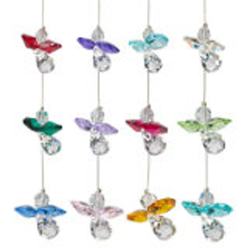 Woodstock Chimes Crystal Guardian Angels