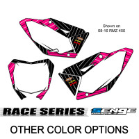 RACE SERIES PINK CUSTOM MX NUMBER PLATES