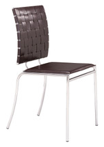 Criss Cross Dining Chair By Zuo Modern (Set Of Four)
