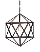 Amethyst Ceiling Lamp Small By Zuo Pure