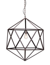 Amethyst Ceiling Lamp Large By Zuo Pure