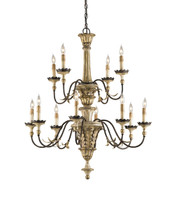 Adara Chandelier By Currey & Company