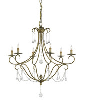 Agostina Chandelier By Currey & Company