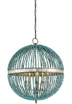Alberto Orb Chandelier By Currey & Company
