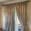 100% silk taffeta drapes excusively for LAUREL AT SUNSET. Priced per panel. Dry clean only.