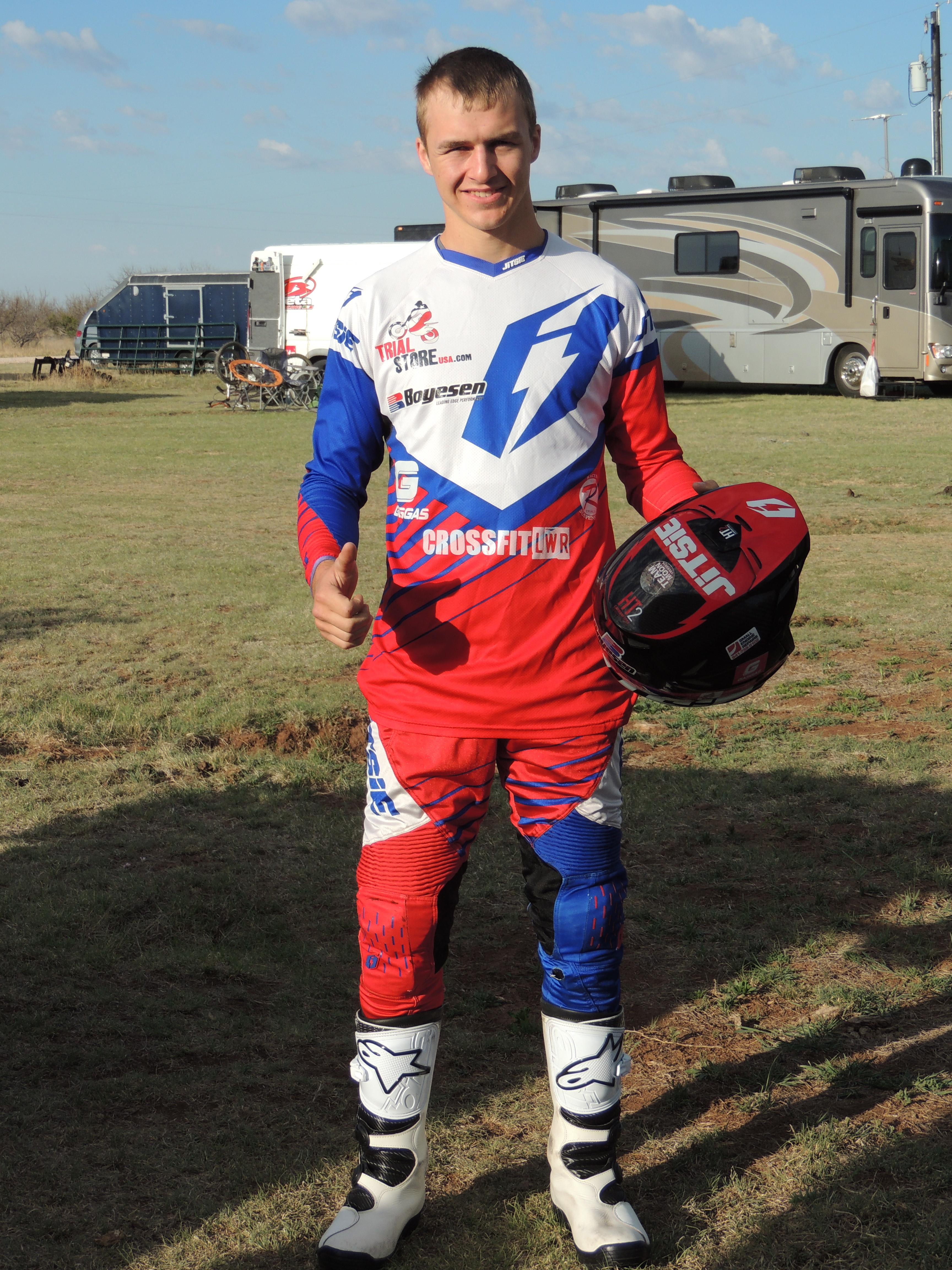 Alexander Niederer Pro rider for GasGas.