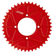 Jitsie solid rear sprocket red