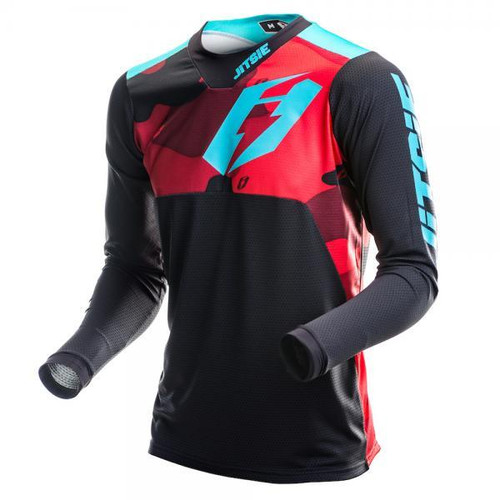 Jersey T3 Squad red/ teal
