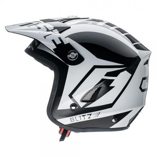 Helmet HT1 Blitz white/ black left side