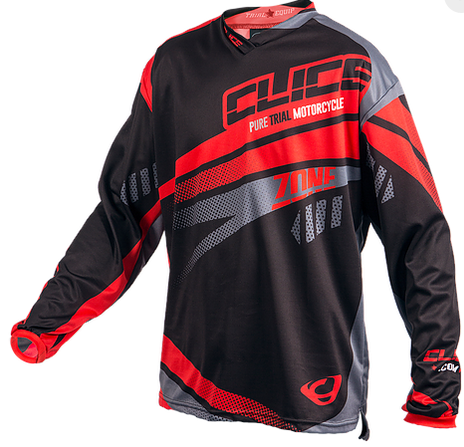 Clice zone 2017 jersey front red