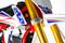 Beta MiniCross E - close up triple clamp