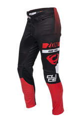 Clice Zone men's trial pants, red