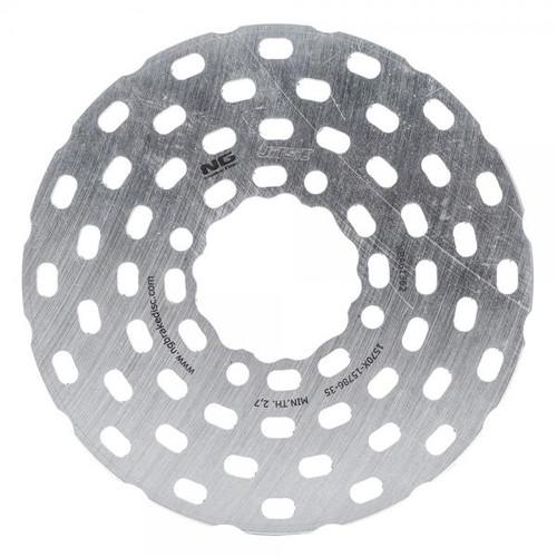 Rear brake disc race
