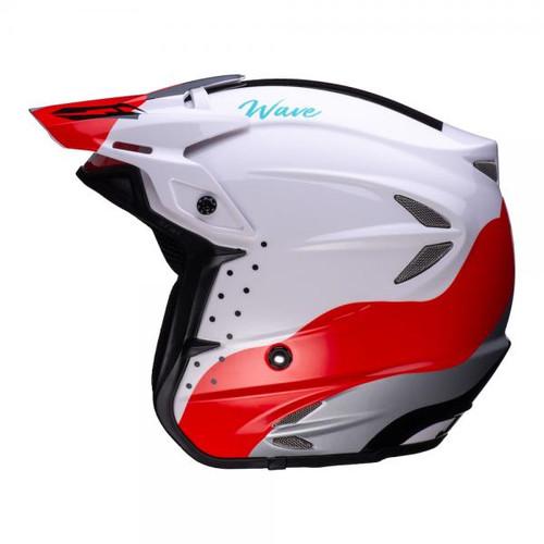 Helmet HT2 Wave black/ red/ white