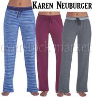 WOMENS LIVE LOVE LOUNGE KAREN NEUBURGER LOUNGE PANT!