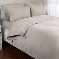 LUXURY SPA FLANNEL 4 PIECE SHEET SET FROM PORTUGAL LUXURY WEIGHT