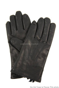 WOMENS ISOTONER SMARTOUCH GENUINE LEATHER GLOVES