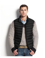 HAWKE AND CO. OUTFITTER PACKABLE DOWN LIGHTWEIGHT VEST