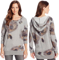 895150-WOMEN'S DKNY JEANS HOODED TUNIC TOP