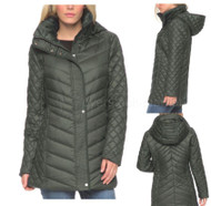 WOMENS MARC NEW YORK ANDREW MARC QUILTED WALKER HOODED JACKET COAT