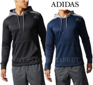 Adidas Mens Ultimate Pullover Hoodie Climawarm Technology Sweatshirt