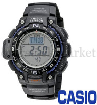 MENS CASIO SUPER ILLUMINATOR TRIPLE SENSOR DIGITAL WATCH SGW-1000