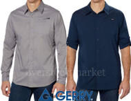 MEN'S GERRY HOWIE ROLL UP SLEEVE STRETCH SHIRT! UPF 20 WICKING