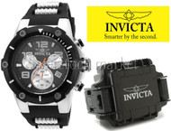 Men's Invicta Speedway Stainless Steel Case Chronograph Watch! 22235