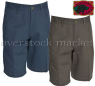 Men's Boston Traders Luxury Vintage Flat Front Chino Short