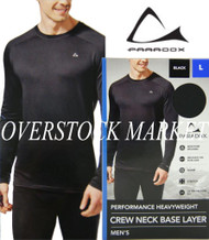 MENS PARADOX PERFORMANCE HEAVYWEIGHT CREW NECK BASE LAYER TOP